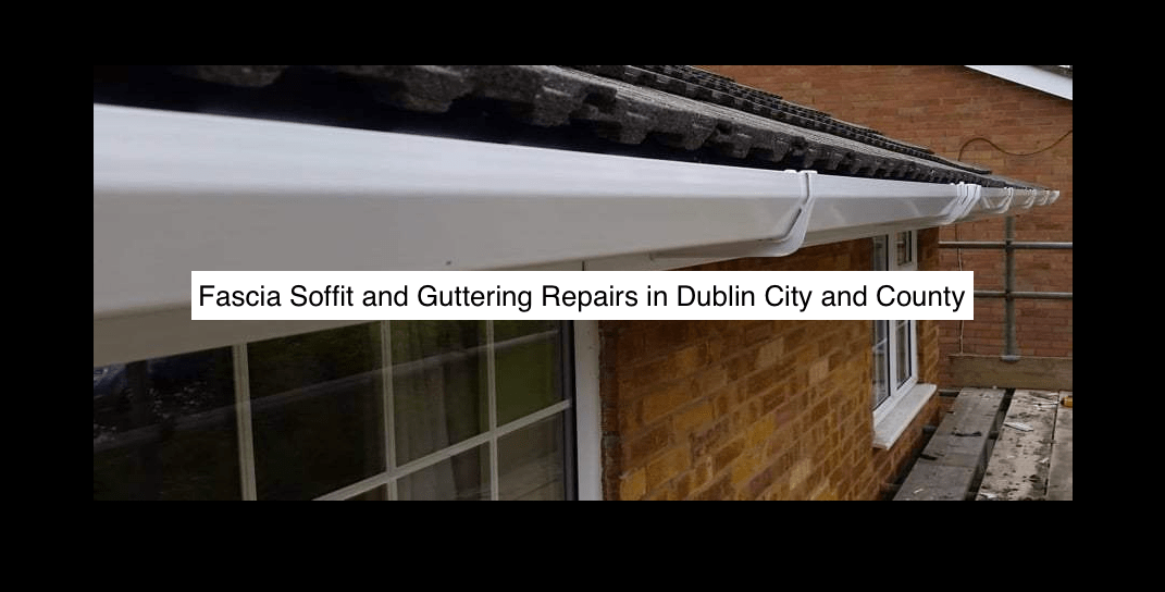 Fascia Soffit and Guttering Repairs in County Dublin